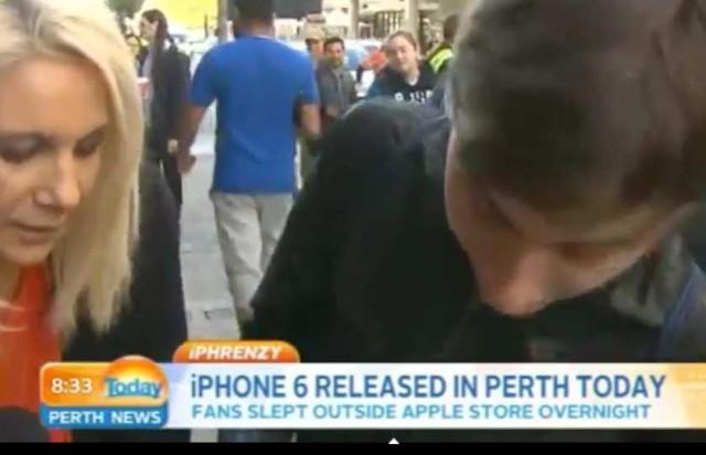 El primer iPhone 6 vendido en el mundo se cae al suelo