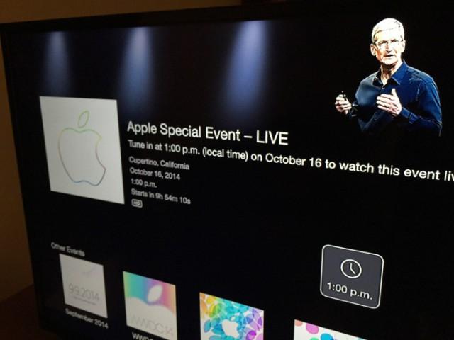 Evento Apple TV