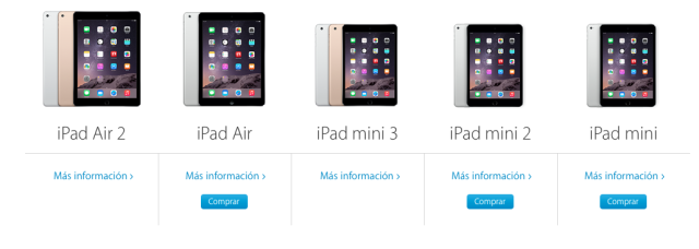 Reservas iPads 2