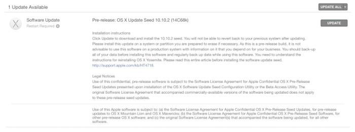 Apple distribuye OS X 10.10.2 Yosemite para desarrolladores. Ni rastro del fallo en la conectividad Wi-Fi