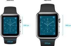 Dos resoluciones distintas para las aplicaciones del Apple Watch