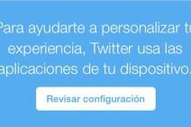 Twitter ya registra las apps que tienes en tu iPhone