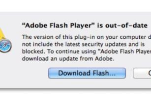 Apple empuja a los usuarios a actualizar Adobe Flash Player por una vulnerabilidad