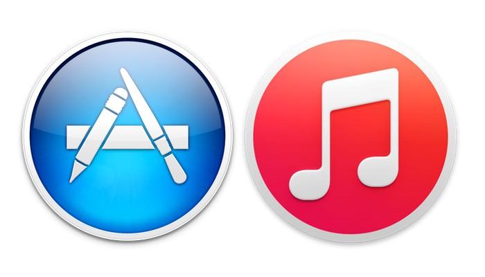 App-Store-iTunes-logos