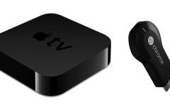El Chromecast de Google le gana la partida al Apple TV en el salón de casa