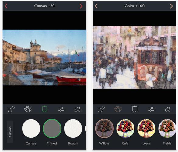 """Brushstroke, toda una """"app del año 2014″ en retoque fotográfico, gratis por tiempo limitado"""