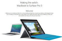 "Microsoft quiere ""Switchers"" que cambien su MacBook por el Surface Pro 3"