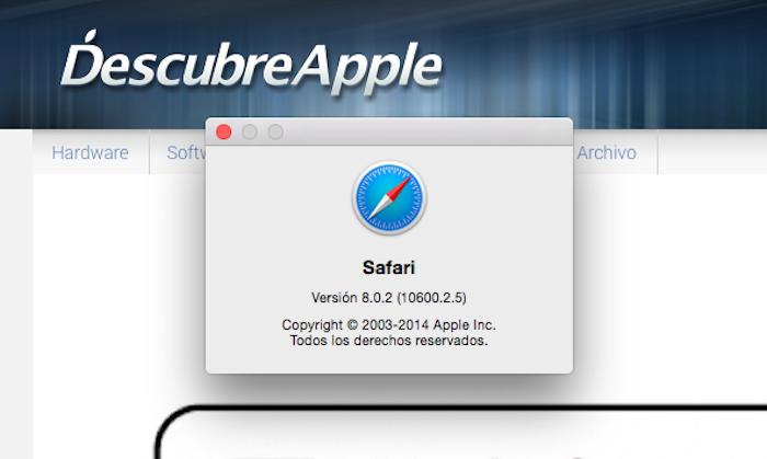 Safari 8.0.2