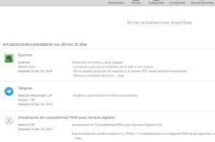 Las actualizaciones automáticas en OS X, un arma de doble filo