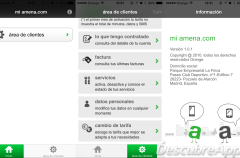 La aplicación de Amena para iOS ya está disponible (aunque con un diseño nefasto)
