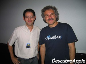 Foto con Pablo Helman