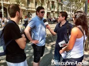 Entrevistando a Ana, Victor, Javi y Vicente del GUM Valencia