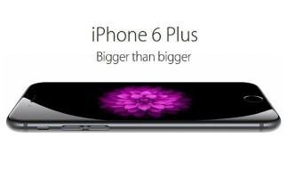 El iPhone 6 Plus logra casi la mitad de todas las ventas de phablets en Estados Unidos