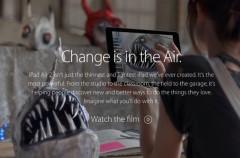 Change, el nuevo anuncio que muestra todo lo que podemos hacer con el iPad Air  (y quizás no sabíamos)