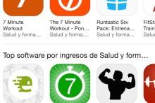 El chollo de las apps de ejercicios en 7 minutos