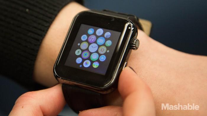 Esta imitación del Apple Watch se vende en el CES