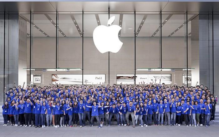 Los empleados de Apple son los más optimistas y adoran a Tim Cook