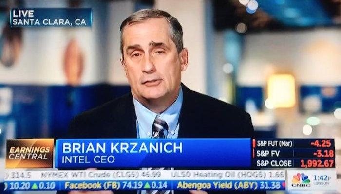 El CEO de Intel quita importancia a los rumores sobre los Mac con procesadores ARM
