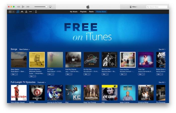 Apple lanza una sección de contenido gratuito en iTunes
