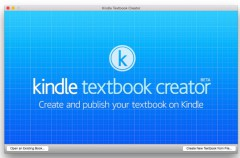 Amazon lanza Kindle Textbook Creator para Mac, la competencia de iBooks Author
