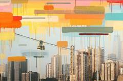 El Arte como pretexto. Así es el mural que cubre la Apple Store de Chongqing