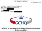 Un documento detalla como la inteligencia británica rastreaba a los usuarios de iPhone