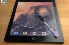 Así puede ser el aspecto del iPad Pro de 12 pulgadas (y de su stylus)