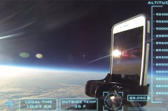 El iPhone que viajó al Espacio