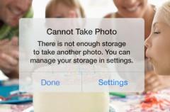 La adopción de iOS 8 está estancada por el almacenamiento del iPhone