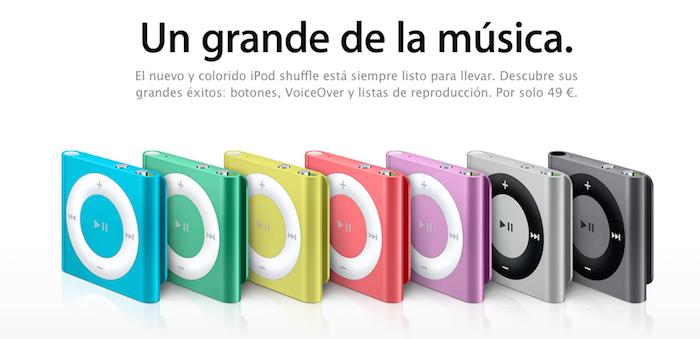 iPods shuffle