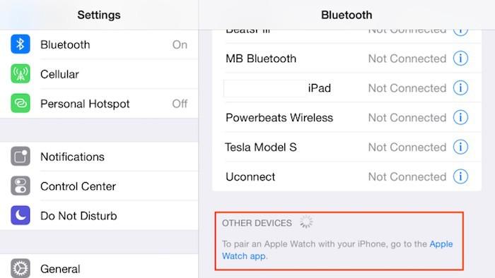 La cuarta beta de iOS 8.2 confirma que el Apple Watch tendrá aplicación específica