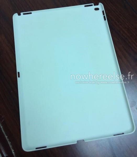 Esta (no) podría ser una funda-carcasa trasera de terceros para el iPad Pro