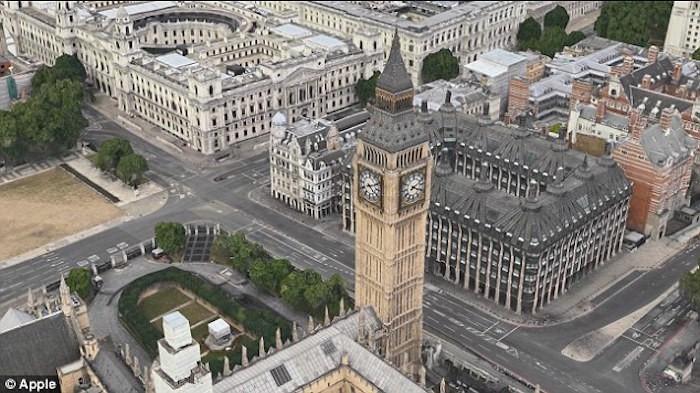 Big Ben Mapas