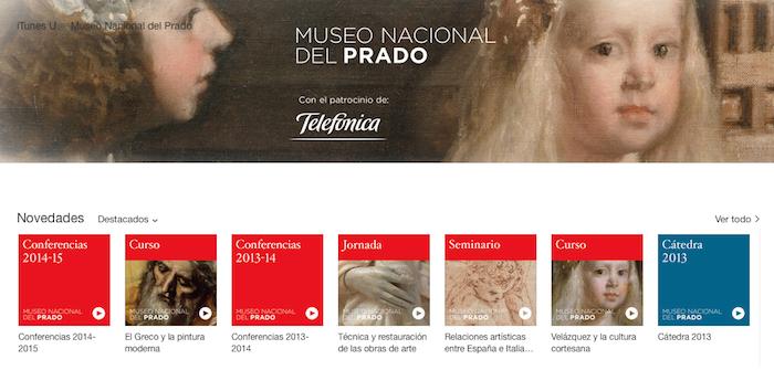 El Prado iTunes U