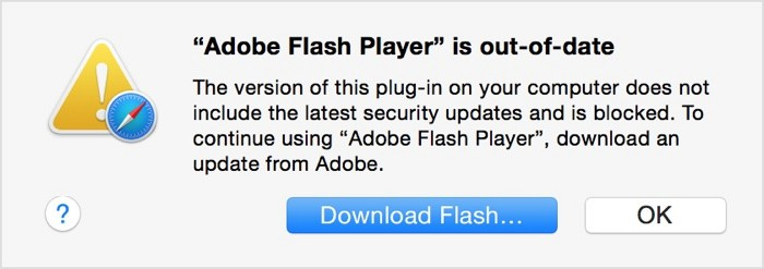 Flash player actualizado
