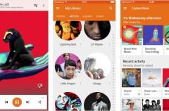 Google Play Music llega ahora también al iPad con su última actualización