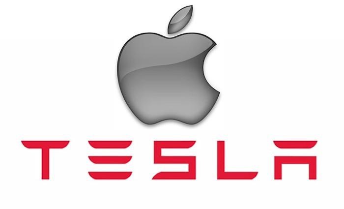 Logo Apple Tesla
