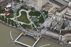 Londres inaugura las animaciones 3D en los mapas de Apple