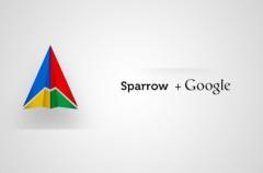Google elimina su cliente de correo Sparrow de la App Store