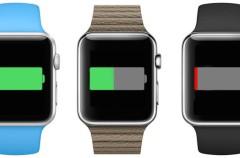 ¡Tranquilo! La batería del Apple Watch te durará todo el día