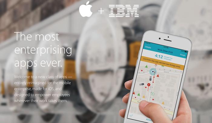 El Mobile World Congress desvela las nuevas apps de iBM para iOS