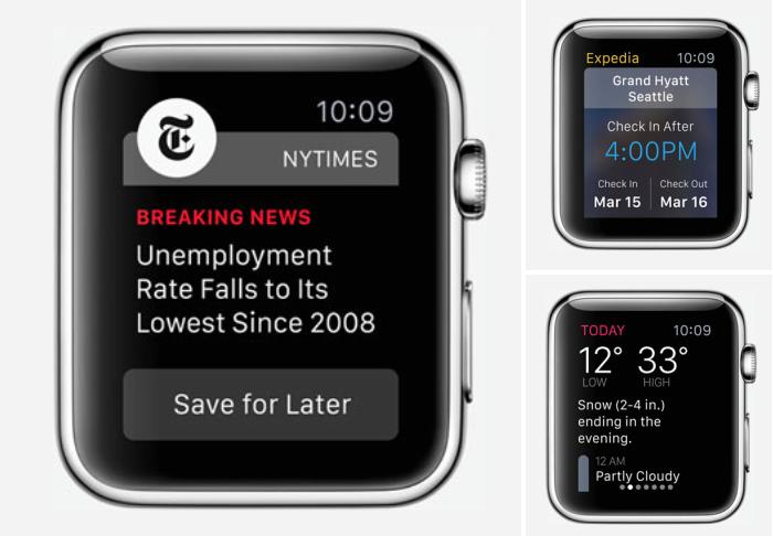 Las primeras apps para el Apple Watch ya empiezan a llegar a la App Store
