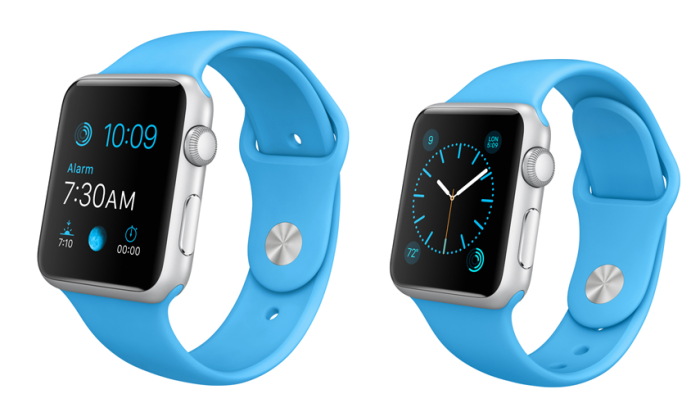 Apple Watch sport azul