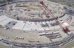 Así progresa la construcción del Apple Campus 2 a vista de drone