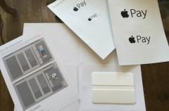 Apple comienza a enviar pegatinas con el logo de Apple Pay a los comercios