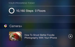 Camera+ se actualiza con nuevo widget en el Centro de Notificaciones
