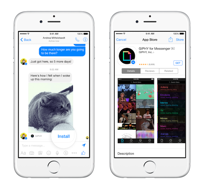 Facebook Messenger API 2