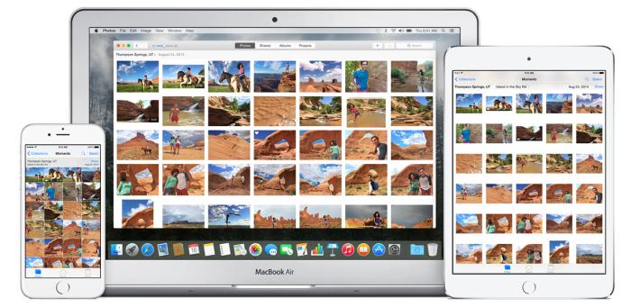 Fotos app