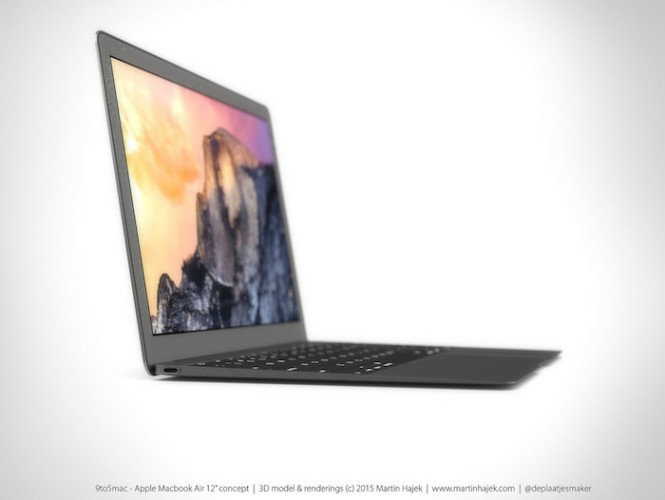 El MacBook Air de 12 pulgadas con Pantalla Retina no llegaría hasta la WWDC de Junio