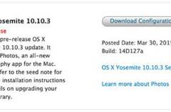 Apple lanza la sexta Beta de OSX 10.10.3 con una app de Fotos muy mejorada